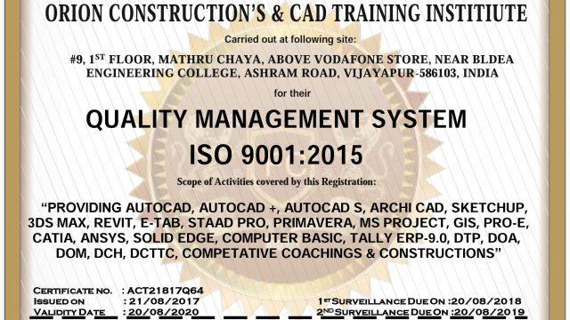 ORION Construction & CAD Training Institute