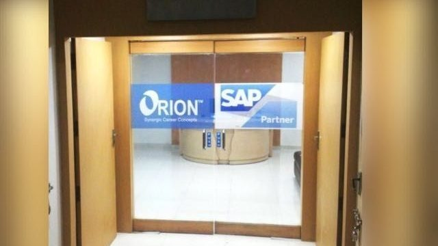 Orion – SAP Authorized Training Partner